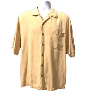 Tommy Bahama Silk Shirt Button Up